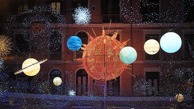Tour verso le luci d'artista a Salerno