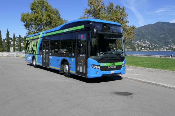 Scania lancia il nuovo autobus ibrido
