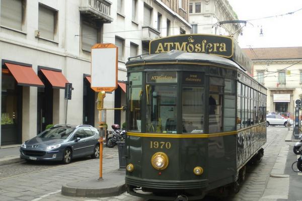Tram ATMosfera: il ristorante milanese su rotaie