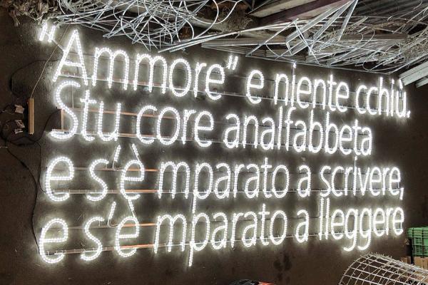 Arrivano anche a Napoli le luci d'artista