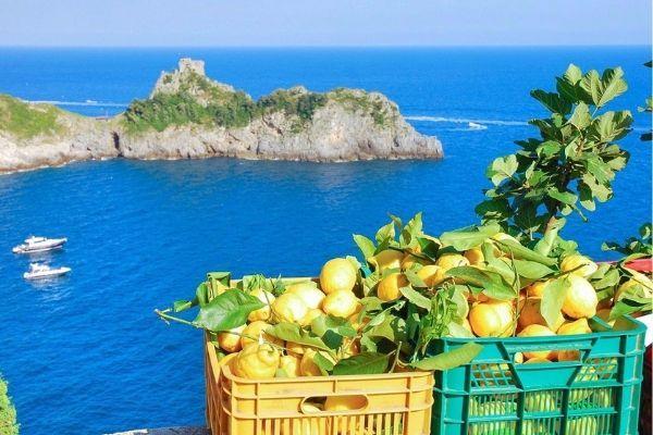 Il paradiso gastronomico della Costiera Amalfitana